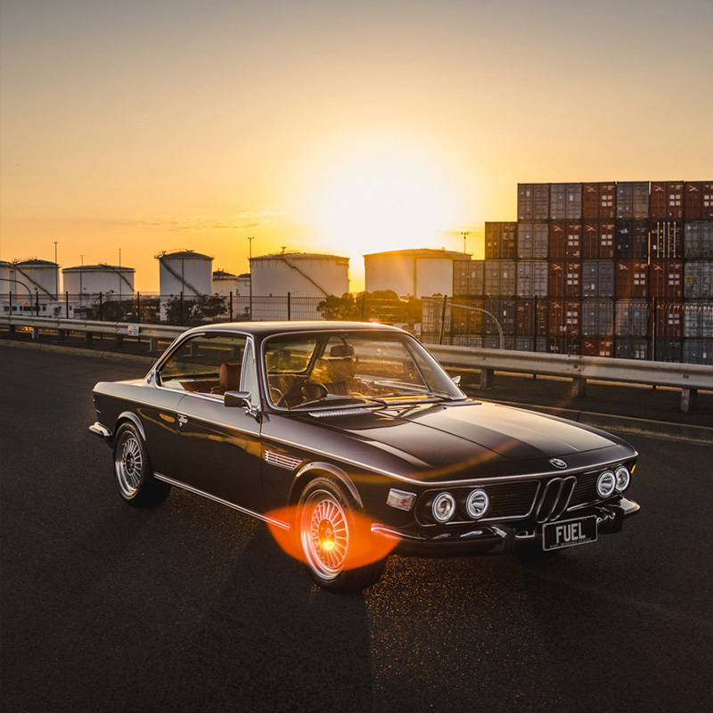 BMW 2800 CSA by Fuel Bespoke Design and <a href='http://www.motorretro.com.au'>MotorRetro Sydney</a>